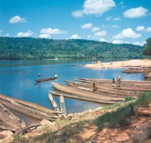 Chari River in CAR via Encyclopedia Britannica