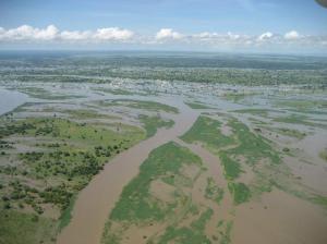 2008 Farmland Flood of Zambezi River due to Heavy Rain via The Road To the Horizon