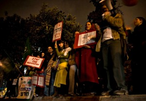 2 Jn - Jerusalem, Israel. A demonstration of Israeli citizens against the war in Gaza by Castaldo