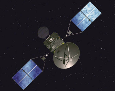 Communication Satellite via JAXA