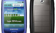 Samsung's Blue Earth mobile Phone