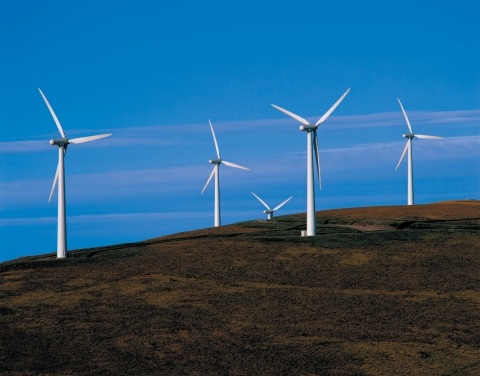 Windturbines via Corusgroup