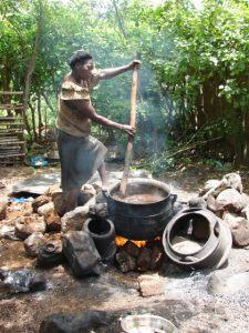 Palm Oil being Made via hoboraveler