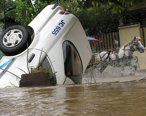 Flood Water in Indonesia via World News