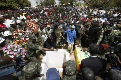 Funeral via Reuters