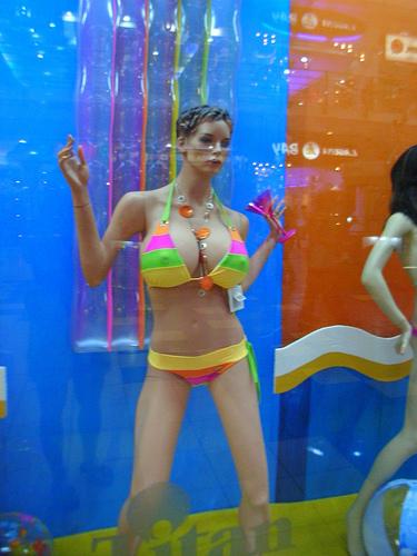 Mannequin in Panama via flickr