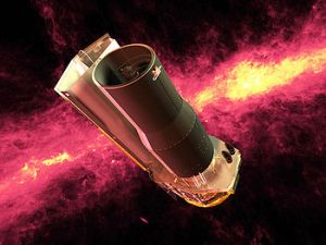 Spitzer Space Telescope via wikimedia