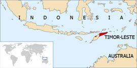 Timor-Leste via irin