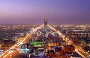 Capital of Saudi, Riyadh, via wayfaring